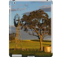 Landscape: Windmill with water drums iPad Case/Skin