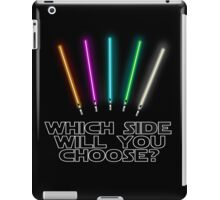 Which Side will you choose? iPad Case/Skin