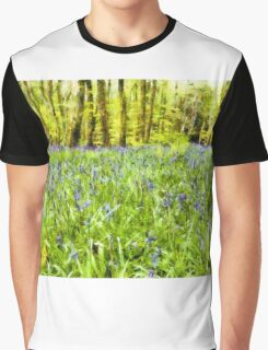 Bluebell Wood Graphic T-Shirt