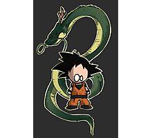 Goku chibi Photographic Print