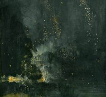 Whistler - Nocturne in black and gold by crusselrow
