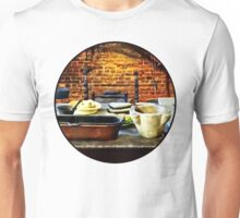 Mortar and Pestles in Colonial Kitchen Unisex T-Shirt