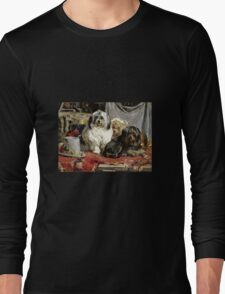 Charles Van Den Eycken - Circus Entertainers Long Sleeve T-Shirt