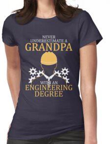 Engineering Grandpa Womens Fitted T-Shirt