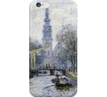 Claude Monet - Canal Amsterdam iPhone Case/Skin