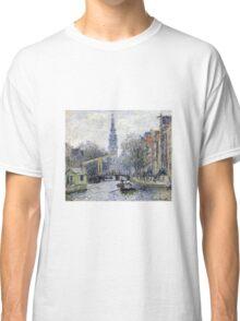 Claude Monet - Canal Amsterdam Classic T-Shirt