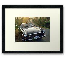 Volvo P1800E Framed Print