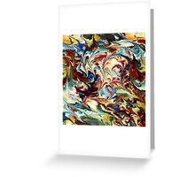 modern composition 36 by rafi talby Greeting Card