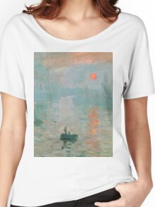 Claude Monet - Impression Sunrise Women's Relaxed Fit T-Shirt