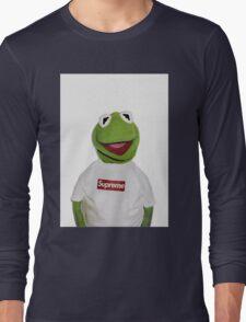 Supreme Kermit the frog Long Sleeve T-Shirt