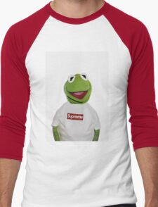 Supreme Kermit the frog Men's Baseball ¾ T-Shirt