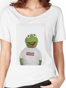Supreme Kermit the frog Women's Relaxed Fit T-Shirt