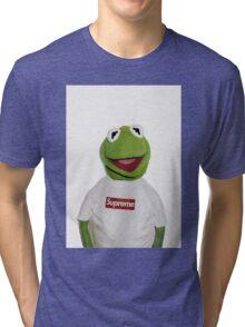 Supreme Kermit the frog Tri-blend T-Shirt