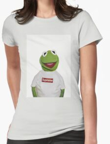 Supreme Kermit the frog Womens Fitted T-Shirt