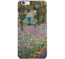 Claude Monet - Irises In Monets Garden iPhone Case/Skin