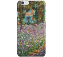 Claude Monet - Irises In Monets Garden iPhone Case/Skin