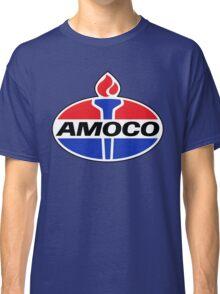 AMOCO oil vintage retro racing lubricant Classic T-Shirt