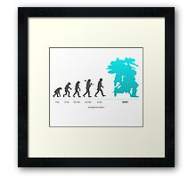 Xenoblade Chronicles X - Theory of Evolution Framed Print
