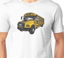 School bus Unisex T-Shirt