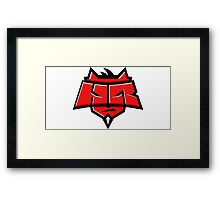 Team Hellraisers logo Framed Print