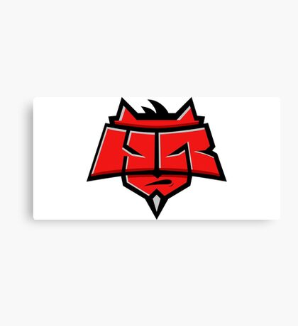 Team Hellraisers logo Canvas Print