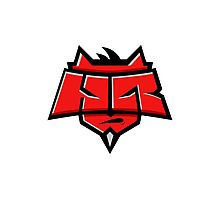 Team Hellraisers logo Photographic Print