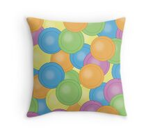 Flying Saucers Throw Pillow