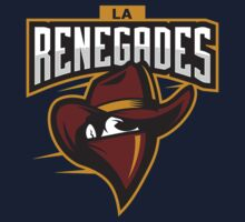 Team LA Renegades logo Kids Tee