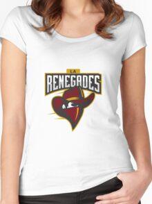 Team LA Renegades logo Women's Fitted Scoop T-Shirt