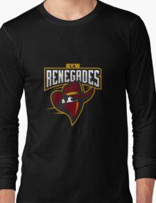 Team LA Renegades logo Long Sleeve T-Shirt