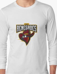 Team LA Renegades logo Long Sleeve T-Shirt