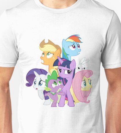 Main ponies shaking Unisex T-Shirt