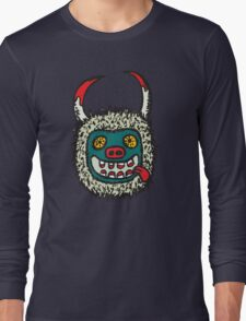 Traditional Croatian carnival mask Long Sleeve T-Shirt