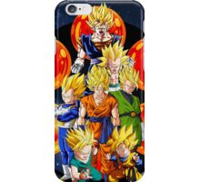 Dragon Ball Z - The Saiyans iPhone Case/Skin