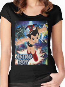 Astro boy Women's Fitted Scoop T-Shirt