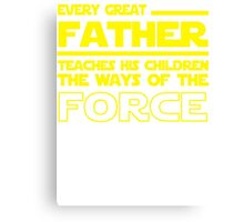 Great Father Canvas Print