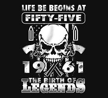 LIFE BE BEGINS AT FIFTY-FIVE 1961 THE BIRTH OF LEGENDS T-Shirt