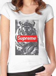 Supreme  Women's Fitted Scoop T-Shirt