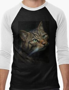 Scottish Wild Cat Men's Baseball ¾ T-Shirt