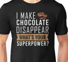 Chocolate Disappear Unisex T-Shirt