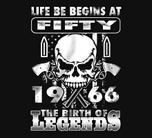 LIFE BE BEGINS AT FIFTY 1966 THE BIRTH OF LEGENDS T-Shirt