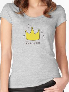 Princess Women's Fitted Scoop T-Shirt