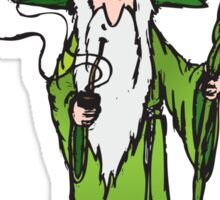 Ganjalf The Green Sticker
