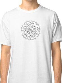 Mountain Flower Mandala Classic T-Shirt