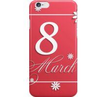 Womans Day iPhone Case/Skin