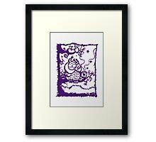 Coffee owl Framed Print