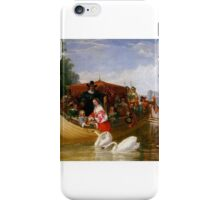 Frederick Goodall - An Episode in the Happier Days of Charles  iPhone Case/Skin