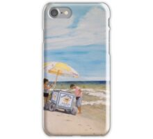 Oak Island Beach Scene iPhone Case/Skin