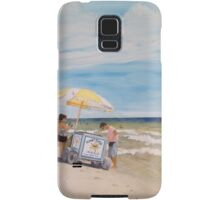 Oak Island Beach Scene Samsung Galaxy Case/Skin
