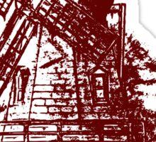Old Holland windmill Sticker